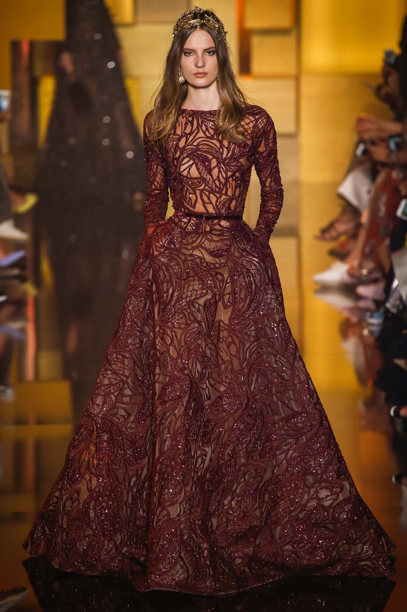 Elie Saab Fall 2015 Couture Collection - SANOOBAR UNSCRIPTED