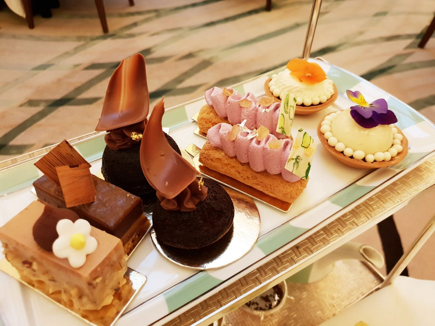 Afternoon Tea Review: Claridges London